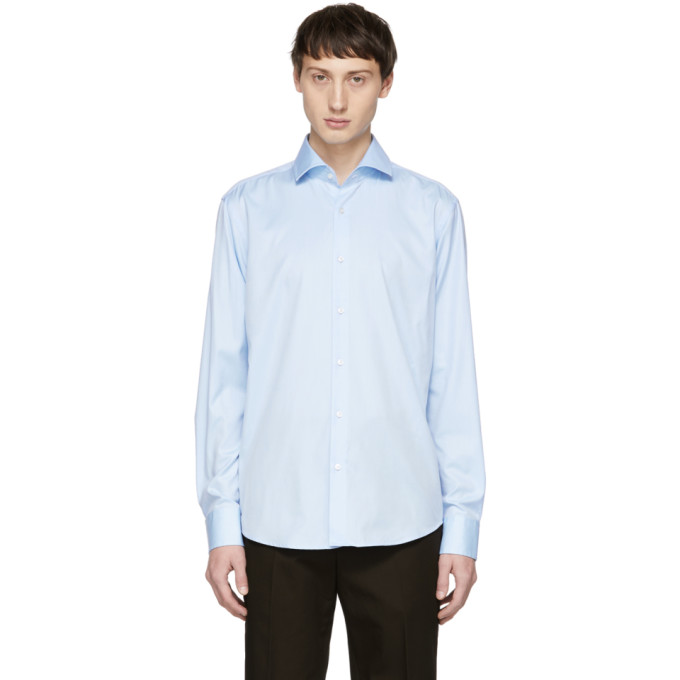 Boss Blue Regular Fit Gordon Shirt, vendor code: 457180, photo 1