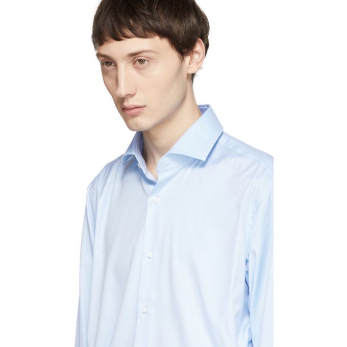 Boss Blue Regular Fit Gordon Shirt, vendor code: 457180, photo 4