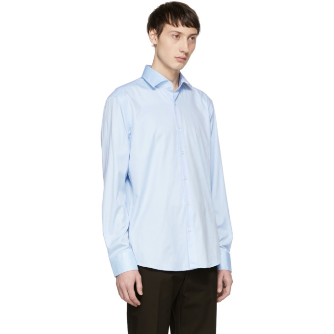 Boss Blue Regular Fit Gordon Shirt, vendor code: 457180, photo 2