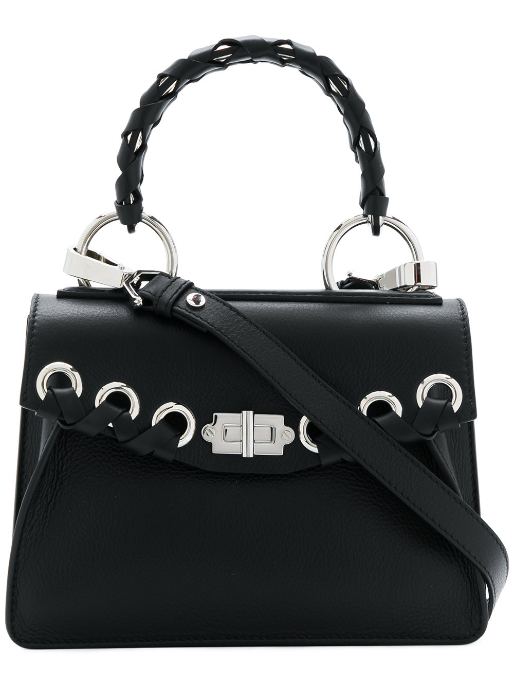97409f08d Proenza Schouler - Black Women's Small Hava Whipstitch Top Handle Bag,  vendor code: 412449 ...