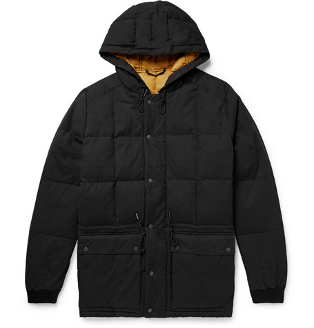 NN07 - Park Quilted Cotton-blend Hooded Down Parka - Black, vendor code: 456695, photo 1