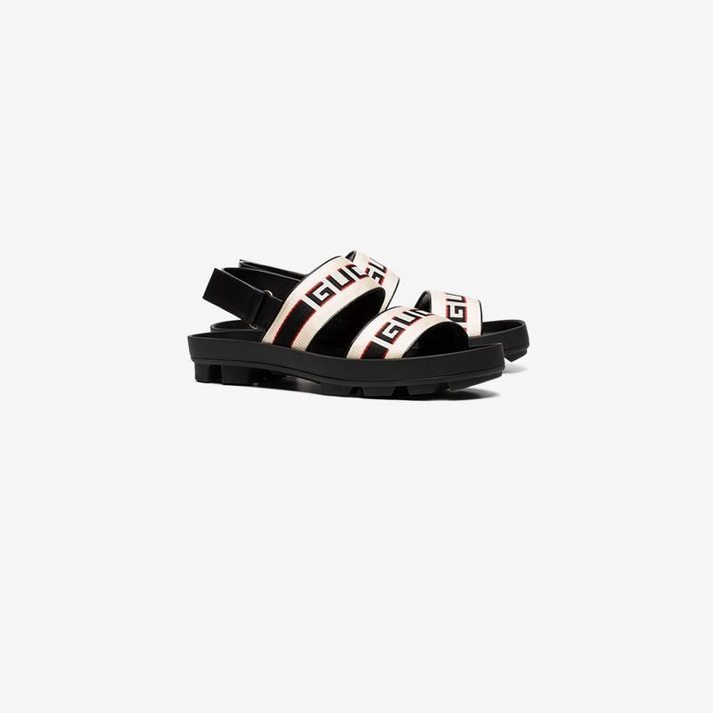 87dc3bf8df9f Gucci Gucci stripe strap sandal by Browns buy at SUNDAY30.COM