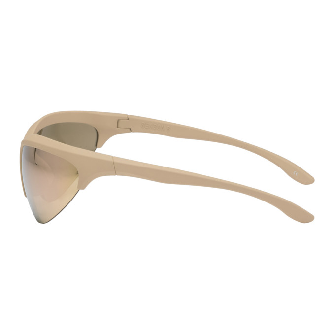 644567d46b94 Taupe Sport Sunglasses by Yeezy buy at SUNDAY30.COM